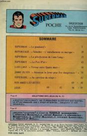 Superman Poche N°72 - Couverture - Format classique