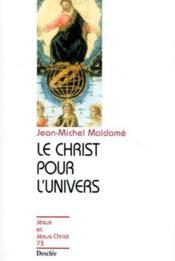 Le Christ pour l'univers - Couverture - Format classique