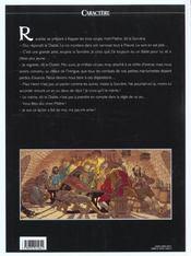 Les 7 vies de l'épervier t.4 ; Hyronimus - 4ème de couverture - Format classique
