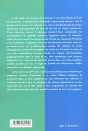 Xxe Le Siecle Des Illusions Classes Preparatoires Sciences Po Premier Cycle Universitaire - 4ème de couverture - Format classique