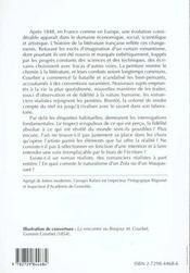 Le Roman Realiste Et Naturaliste - 4ème de couverture - Format classique