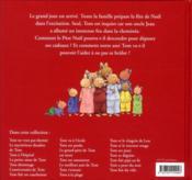 Le Noël de Tom - 4ème de couverture - Format classique