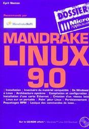 Linux mandrake 9.0 - dossiers micro application - Intérieur - Format classique