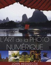 L'art de la photo numérique - Intérieur - Format classique