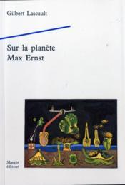 Sur la planete ernst max - Couverture - Format classique