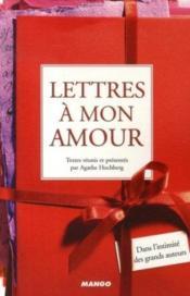 Lettres à mon amour - Couverture - Format classique