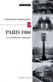 Paris 1900 - Couverture - Format classique