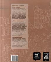 Rond point 3 guide pedagogique - 4ème de couverture - Format classique
