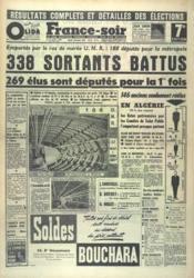 France Soir 7 Eme Edition N°4464 du 02/12/1958 - Couverture - Format classique