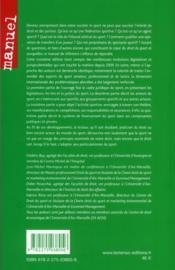 Droit du sport (3e édition) - 4ème de couverture - Format classique