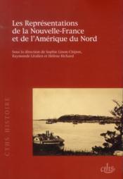 Representations de la nouvelle france et de lamerique du nord - Couverture - Format classique