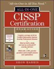 Vente livre :  Cissp all-in-one exam guide - 3rd edition  - Shon Harris