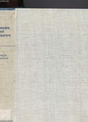 Tendre Est L'Aurore - Couverture - Format classique
