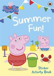 PEPPA PIG ; summer fun! - Couverture - Format classique