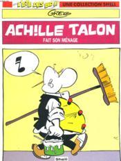 Achille Talon Fait Son Menage - Couverture - Format classique