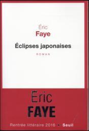 Éclipses japonaises - Couverture - Format classique