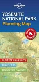 Vente  Yosemite national park planning map (édition 2019)  - Collectif Lonely Planet