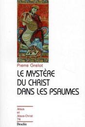Le mystère du Christ dans les psaumes - Couverture - Format classique