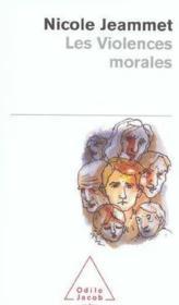 Les violences morales - Couverture - Format classique