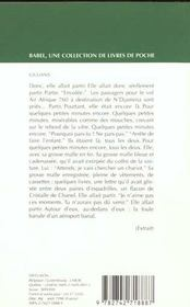 Giuliana Babel 339 - 4ème de couverture - Format classique