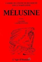Melusine 16 Cultures Contre-Cultures - Couverture - Format classique