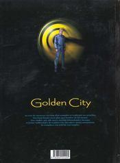 Golden city t.2 ; Banks contre Banks - 4ème de couverture - Format classique