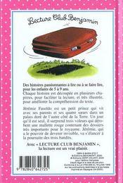 Jeremie et la mallette rouge - 4ème de couverture - Format classique