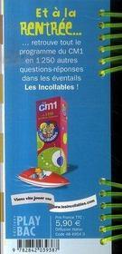 Les Incollables ; Quitte A Réviser...Autant S'Amuser ! Du Ce2 Au Cm1 - 4ème de couverture - Format classique