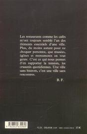 Les Rues De Ma Vie - 4ème de couverture - Format classique