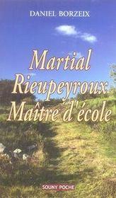 Martial rieupeyroux, maître d'école - Intérieur - Format classique