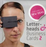 Vente livre :  Letter-heads and business cards 2  - Peter Feierabend - Marc Wnuck