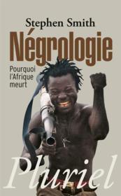 Negrologie - Couverture - Format classique