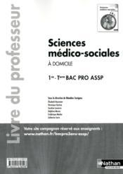 Sc Medico-Soc (Dom)1e/Term Bpr - Couverture - Format classique