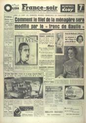 France Soir 7 Eme Edition N°4489 du 31/12/1958 - Couverture - Format classique