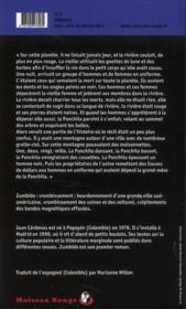 Zumbido - 4ème de couverture - Format classique