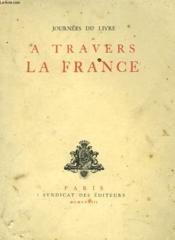 Journee Du Livre A Travers La France - Couverture - Format classique