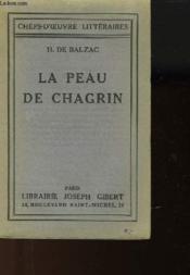La Peau De Chagrin - Couverture - Format classique