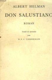 Don Salustiano - Couverture - Format classique