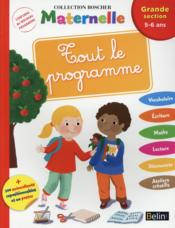 Vente livre :  METHODE BOSCHER ; tout le programme ; grande section  - Barbara Arroyo - Severine Cordier