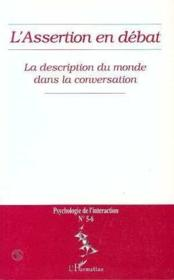 L'Assertion En Débat N.5-6 - Couverture - Format classique