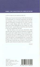 La petite dame en son jardin de bruges - 4ème de couverture - Format classique