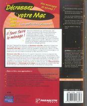 Decrassez votre mac - 4ème de couverture - Format classique