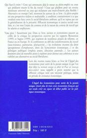 Le Bel Avenir Du Contrat De Travail - 4ème de couverture - Format classique