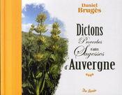 Dictons, proverbes et autres sagesse d'Auvergne - Intérieur - Format classique