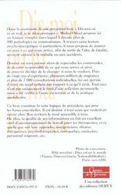 Dis Moi Ou Tu As Mal T.2 ; Le Lexique - 4ème de couverture - Format classique