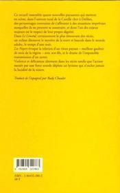 Le Linceul - 4ème de couverture - Format classique