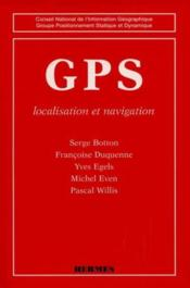 Gps Localisation Et Navigation Coll Cniggpsd - Couverture - Format classique