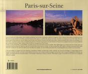 Paris-sur-seine - 4ème de couverture - Format classique