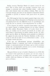 Penelope Et Ses Filles - 4ème de couverture - Format classique