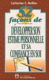 52 Facons De Dev Son Estime - Couverture - Format classique